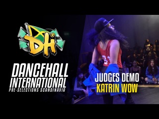 DHI Scandinavia 2017 - Judge Solo KATRIN WOW |