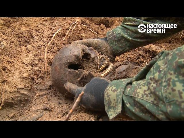 Массовые захоронения жертв Большого террора под Петербургом