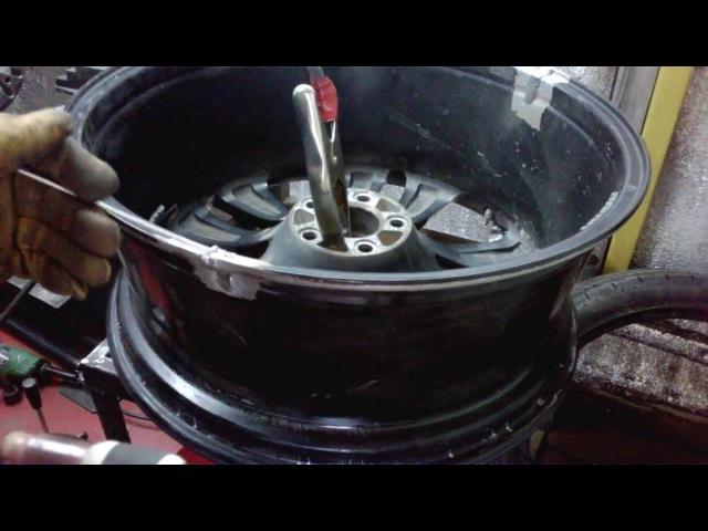 Профессиональная сварка литых дисков