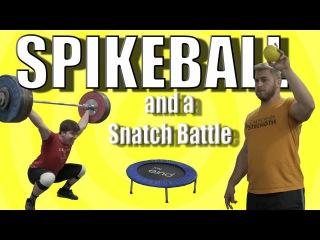 Spikeball and a Snatch Battle