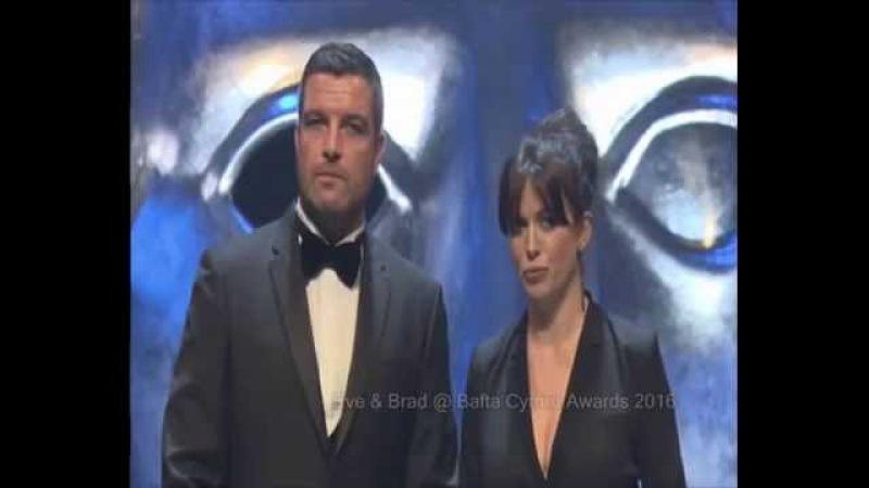 Garath , Naoko , Eve and Bradley - Bafta Cymru Awards 2016