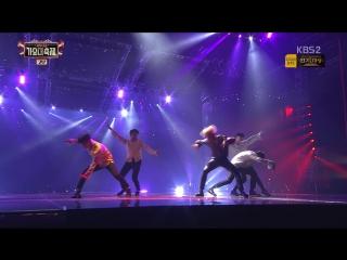 `PERF` 161229 Jimin - Lie + Showdown (SHINee's Taemin) @ KBS Gayo Daechukje.