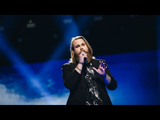 Chris Kläfford sjunger Imagine - Final Idol 2017 (TV4)