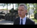 Latvia welcomes NATO battlegroup Stoltenburg soundbites