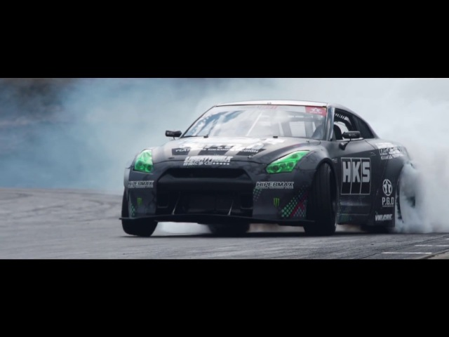1300HP Daigos 「FAT FIVE Racing HKS R35 GT-R」 for Formula Drift USA 2017