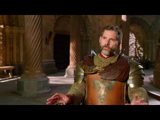 """Eric Bana """"Uther"""" Behind the Scenes Movie Interview"""