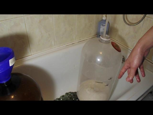 Ставим сахарную брагу в пивной ПЭТ кеге (ленивый метод)