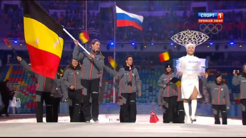 Церемония Открытия Зимней Олимпиады в Сочи 2014