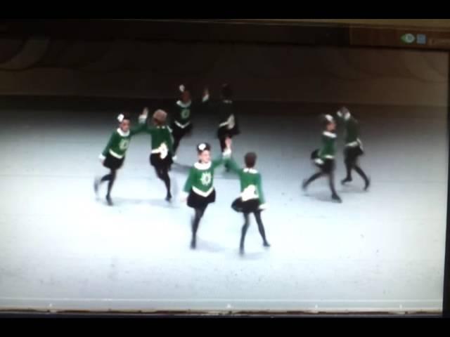 McDade Cara U11 8 Hand Ceili Team B Recall at Irish Dancing World Championships