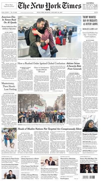The New York Times January 30 2017 FreeMags