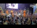 BB Govinda Swami jumping off the stage Intense kirtan in Bhakti sangama 2016 1