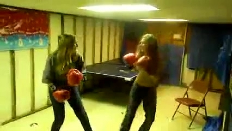 Girls can fight too