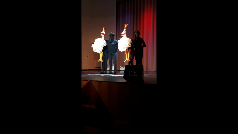 Страусиный кан-кан театр кукол Буратино, рук.Наталья Чиркина