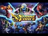 MARVEL Strike Force (EN) - First look. RPG from Marvel. Spider-man Vs Hulk (Android RPG)