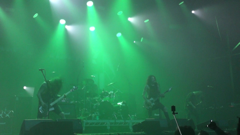 Lost Society live in A2 SPb 23/03/2018