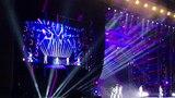 Nick Carter Slips during Backstreet Boys Live in Dubai