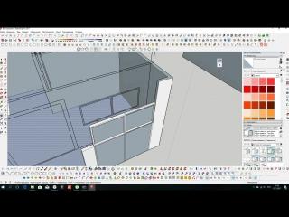 Моделирование дома по чертежам в SketchUp   Графиум
