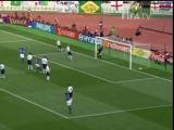 Классика - супер ГОЛ от Роналдиньо в ворота сборной Англии