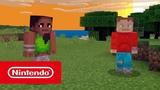 Minecraft трейлер Вместе лучше (Nintendo Switch)