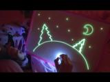 Световой планшет для творчества. Рисуй светом! ХИТ 2018 года!