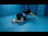 Alberto Serrano - Quarter Nelson Single Leg Defense to Triangle