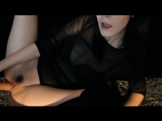 Ivy Aura - Camgirl Slut Fucks Her Pussy (720p) Amateur, Petite Teen, Solo, Masturbation, Dildo