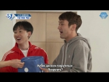 [Sapphire SubTeam] 171113 Шоу «SJ Returns» - Ep.51 «Спортивный день Super Junior: побег из ресторана, часть 1» (рус.саб)