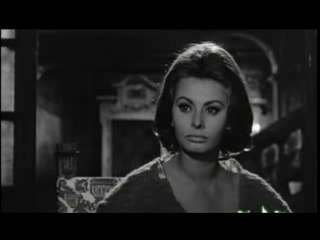 """""""Затворники Альтоны"""" (1962) - По произведению Жан-Поля Сартра. В ролях Софи Лорен."""