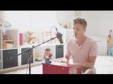 Кавер на детском пианино песни ALONE - HEART