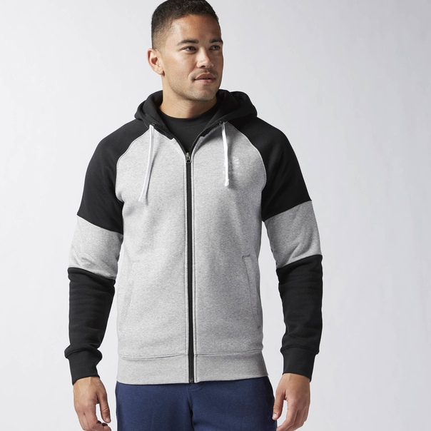 Худи Full Zip Fleece Blocked