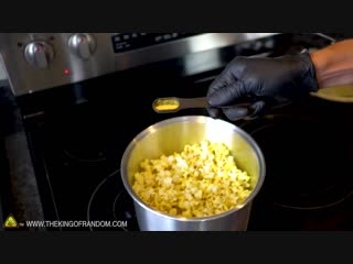 How To Make Theatre Popcorn at HOME