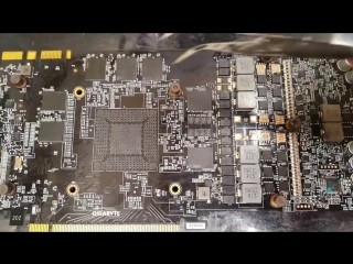 [Terabit Lab] Первая удачная замена GPU на видеокарте с архитектурой Pascal
