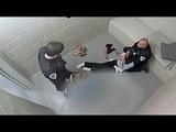 WARNING GRAPHIC Surveillance Video of Cassandra Feuerstein's Arrest