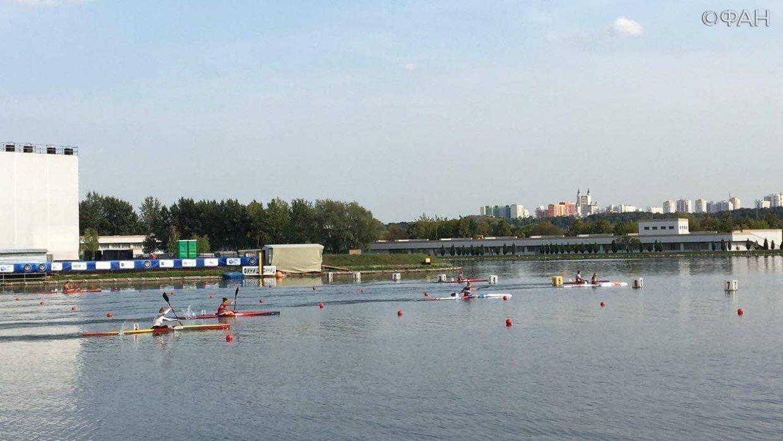 В Москве стартовали соревнования на Кубок президента по гребле на байдарках