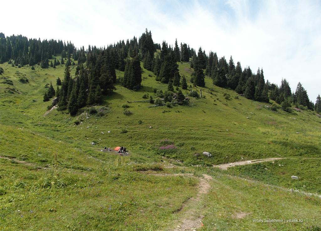Прогулка в горы Алматы 2018 Кок-Жайляу