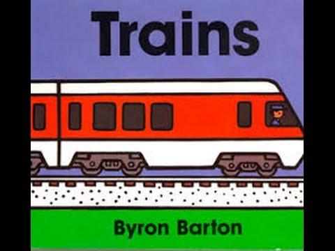 Trains by Byron Barton Read by SUPER BooKBoY
