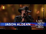 Jason Aldean - You Make It Easy (The Late Show with Stephen Colbert)