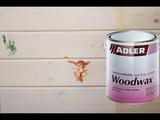Как держит ультрафиолет воск для стен ADLER WOODWAX. Чем и как его мыть