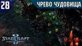Прохождение StarCraft 2 Wings of Liberty Эксперт #28 - Чрево чудовища (Тоннели)
