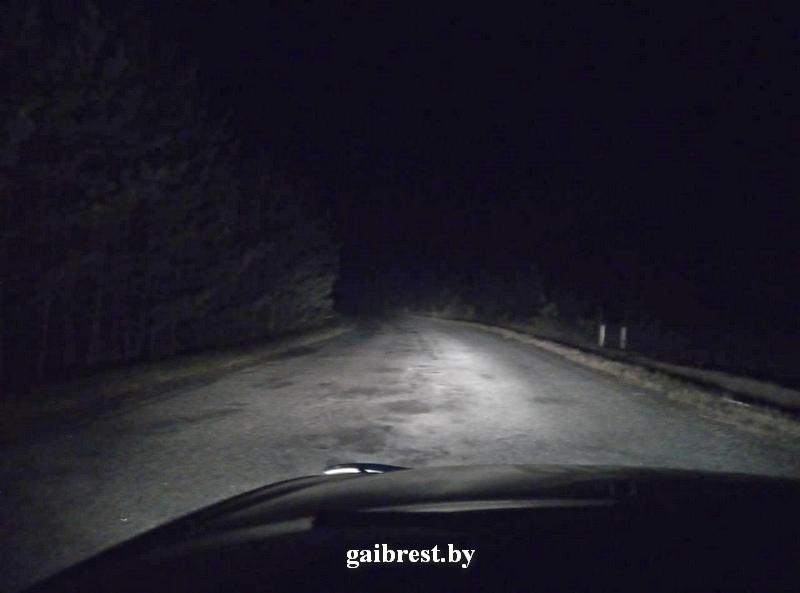 Пинский район: в результате опрокидывания мотоцикла пострадал его водитель