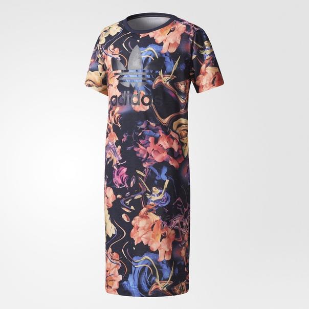 Платье-футболка Rose