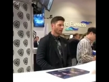 Supernatural cast autographs