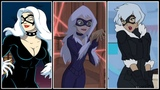 Black Cat Evolution in Cartoons (2018)