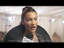 Интервью на ковровой дорожке Бала Института костюма, Нью-Йорк (07.05.18) (русские субтитры)