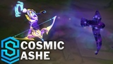 Cosmic Queen Ashe Skin Spotlight - Pre-Release - League of Legends