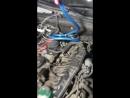 Промывка топливной системы рампа форсунки AUDI A4 без снятия