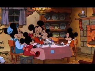 Рождественская история Микки / Mickey's Christmas Carol (1983) (Cartoons in English with English subtitles)