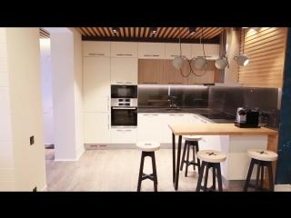 Обзор квартиры студии 45 кв.м. Дизайн интерьера в современном стиле. Однушка для холостяка