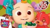 Yum Yum Vegetables Song Nursery Rhymes and Kid's Songs Compilation Video by ABCkidTV