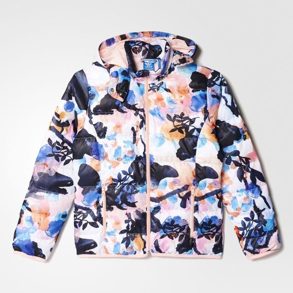 Куртка Allover Print Slim